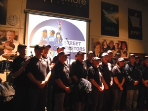 Our first group of street pastors at their commissioning service.